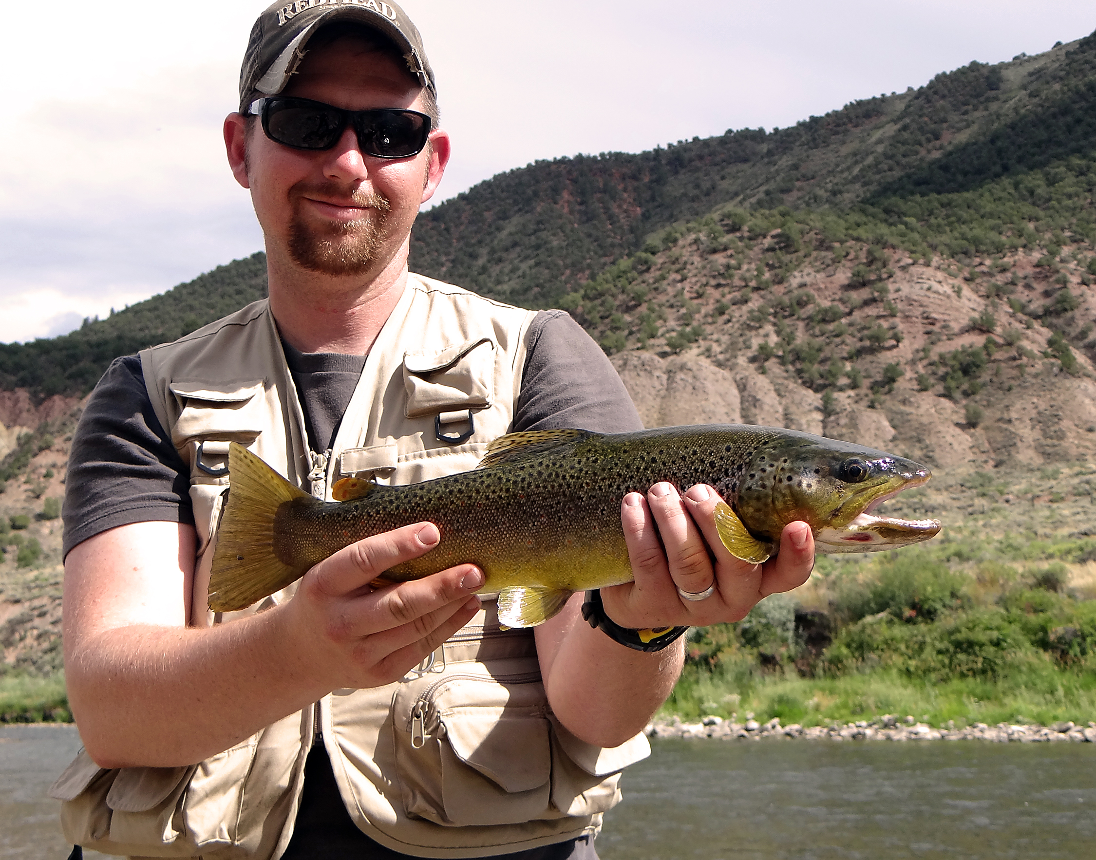 Eagle river great fishing on your big game scouting trip for Colorado fishing trips
