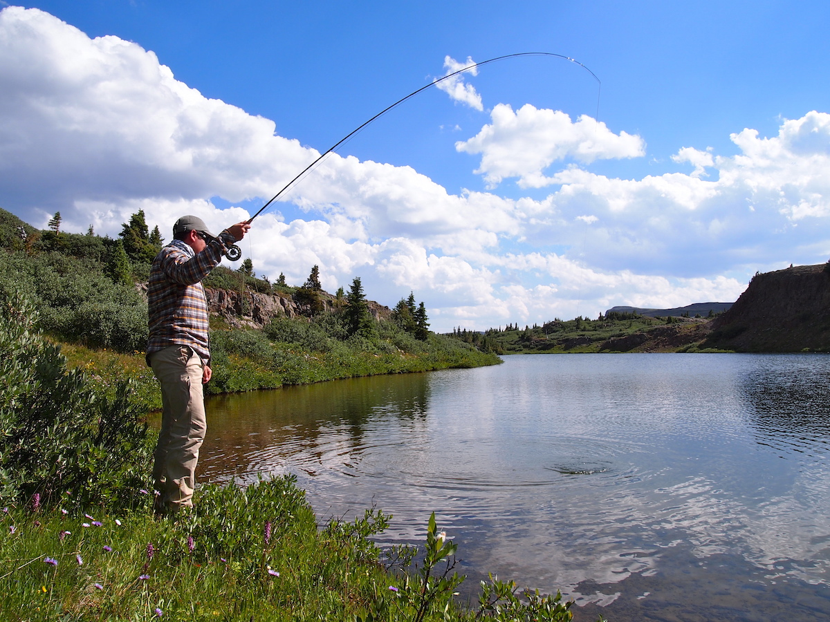 Quick tips gearing up for a wilderness fly fishing trip for Colorado fishing atlas